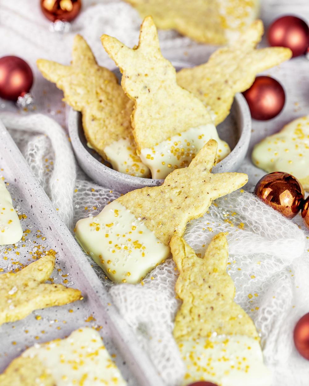 Schneehäschen – Weihnachts Hoppler