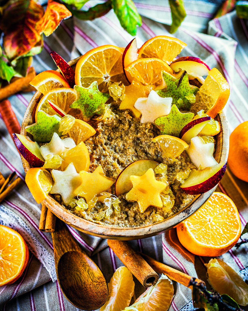 Oatsome Sonnen-Bowl mit Zimterella rabattcode heike herden lecker smoothiebowl