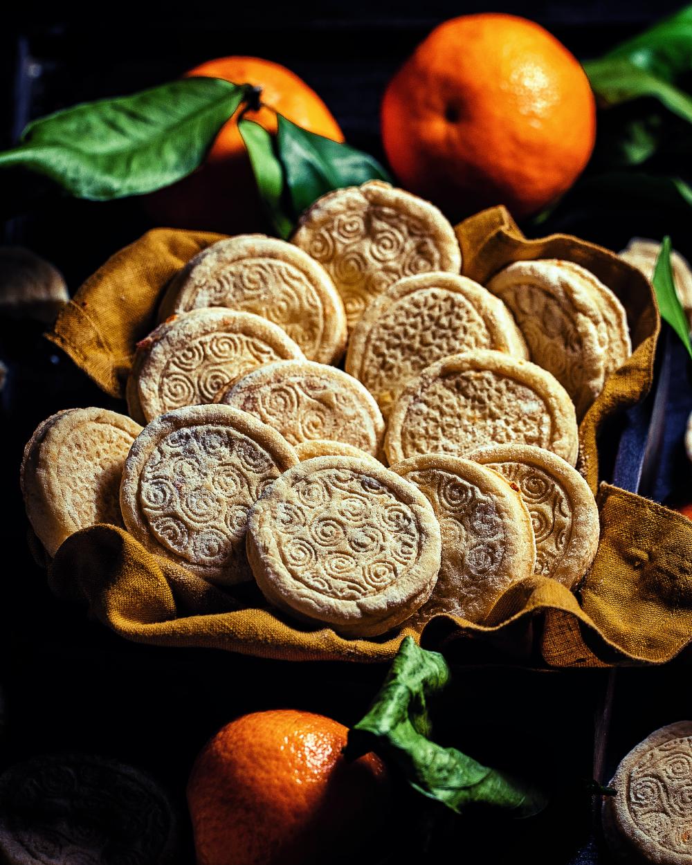 Mandarinen Kekse