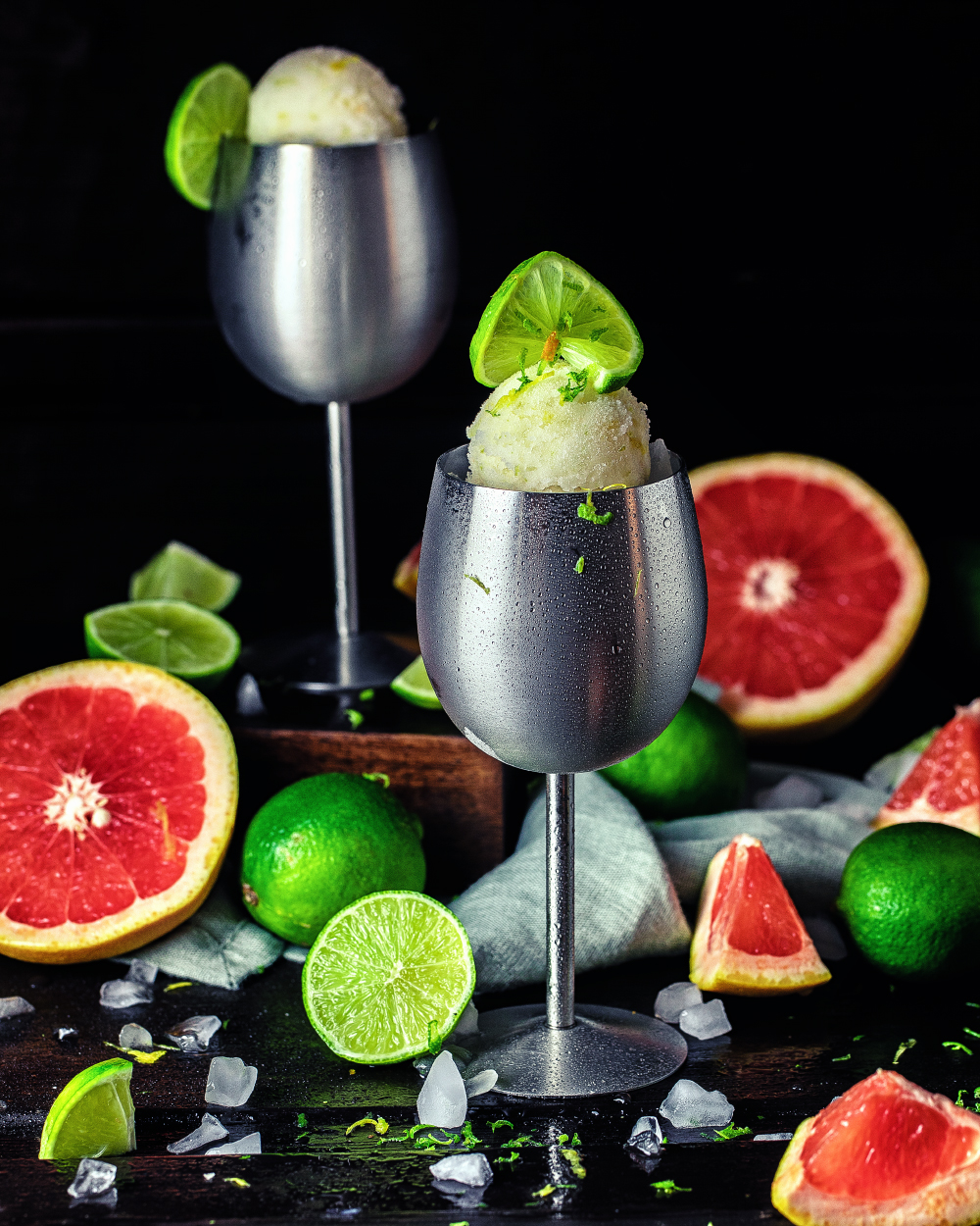 Citrus-Gin-Sorbet