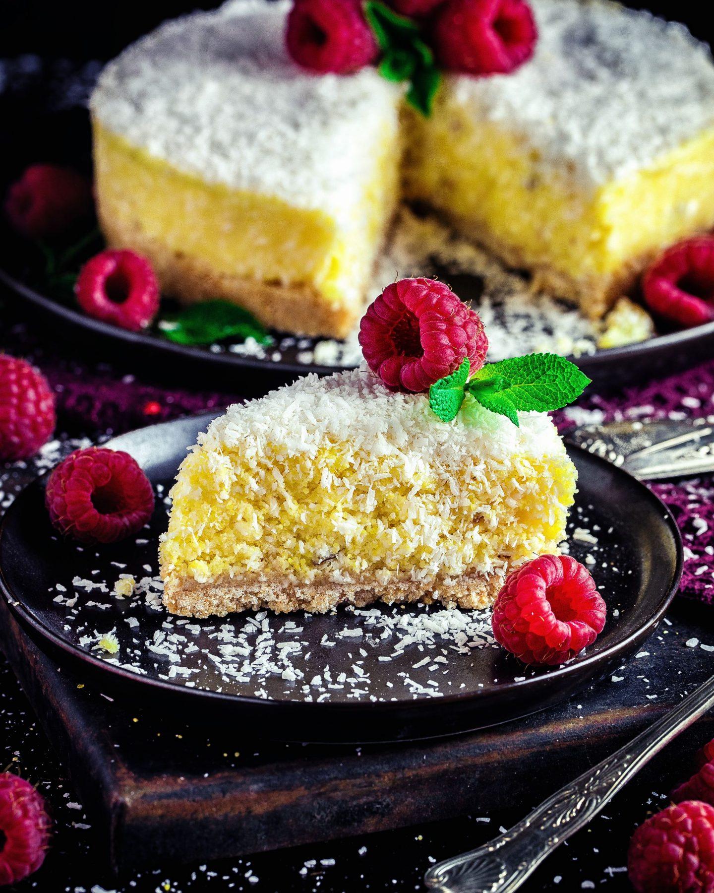 Polenta-Kokos No Bake Cake