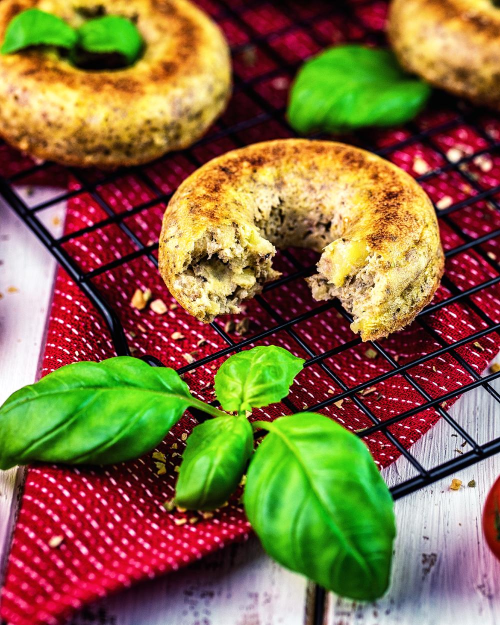 Kartoffel-Ei Frühstücks Donuts – 4 Punkte