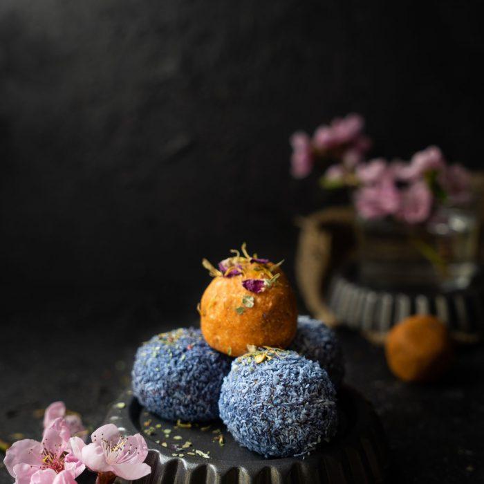 Karotten-Enery-Bällchen von Jana von Lovinveganfood