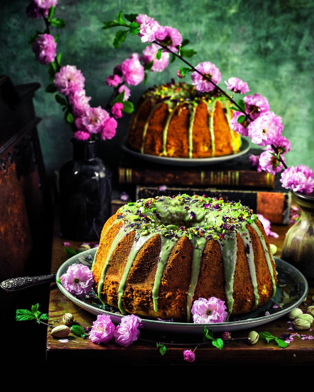 Marzipan Rührkuchen einfaches Rezept für Ostern