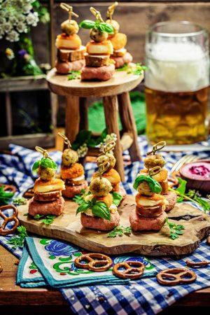 Festzelt-Spieße Fingerfood Bofrost Oktoberfest Rezept von Heike Herden