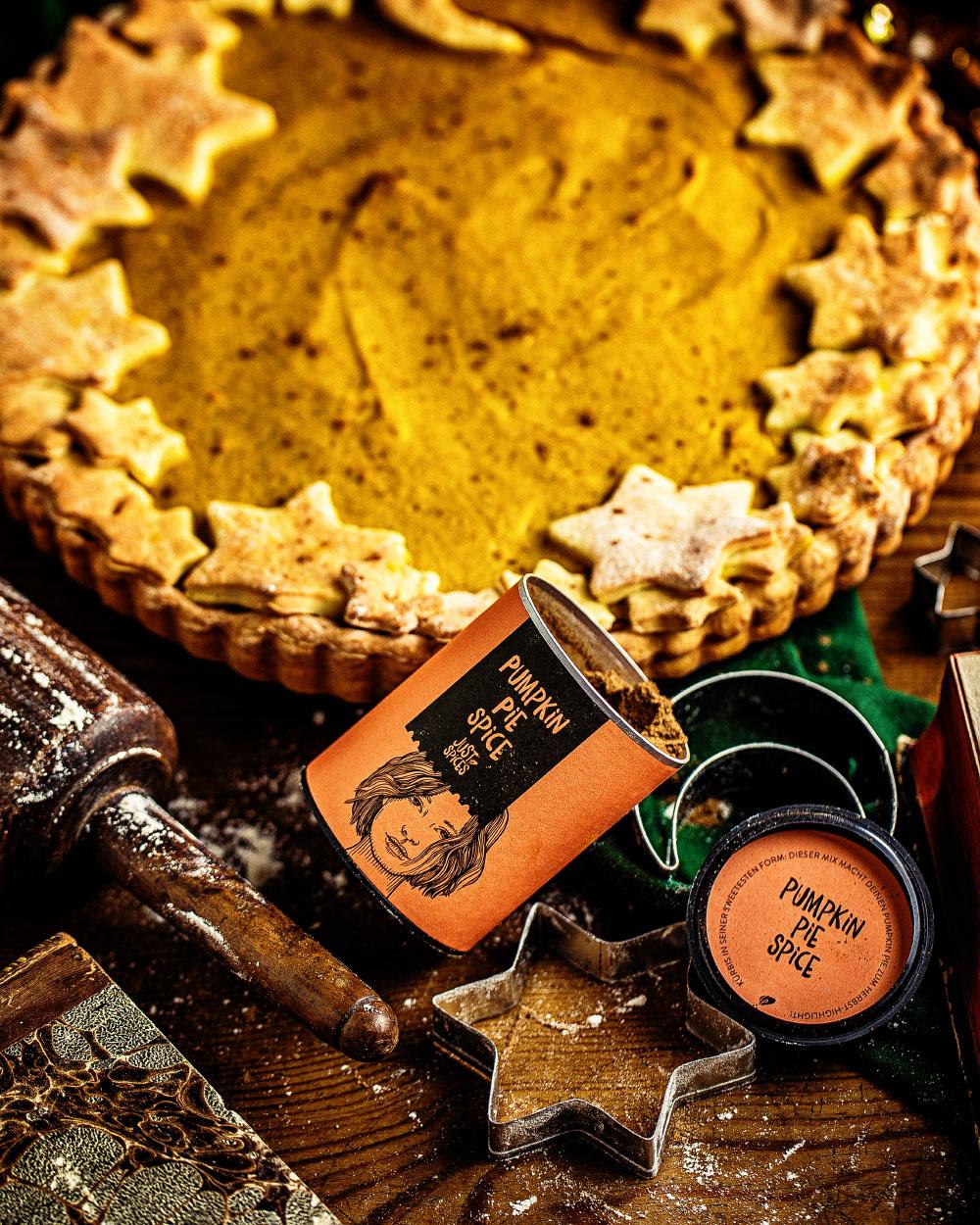 Amerikanischer Pumkin-Pie einfaches Rezept kalorienreduziert
