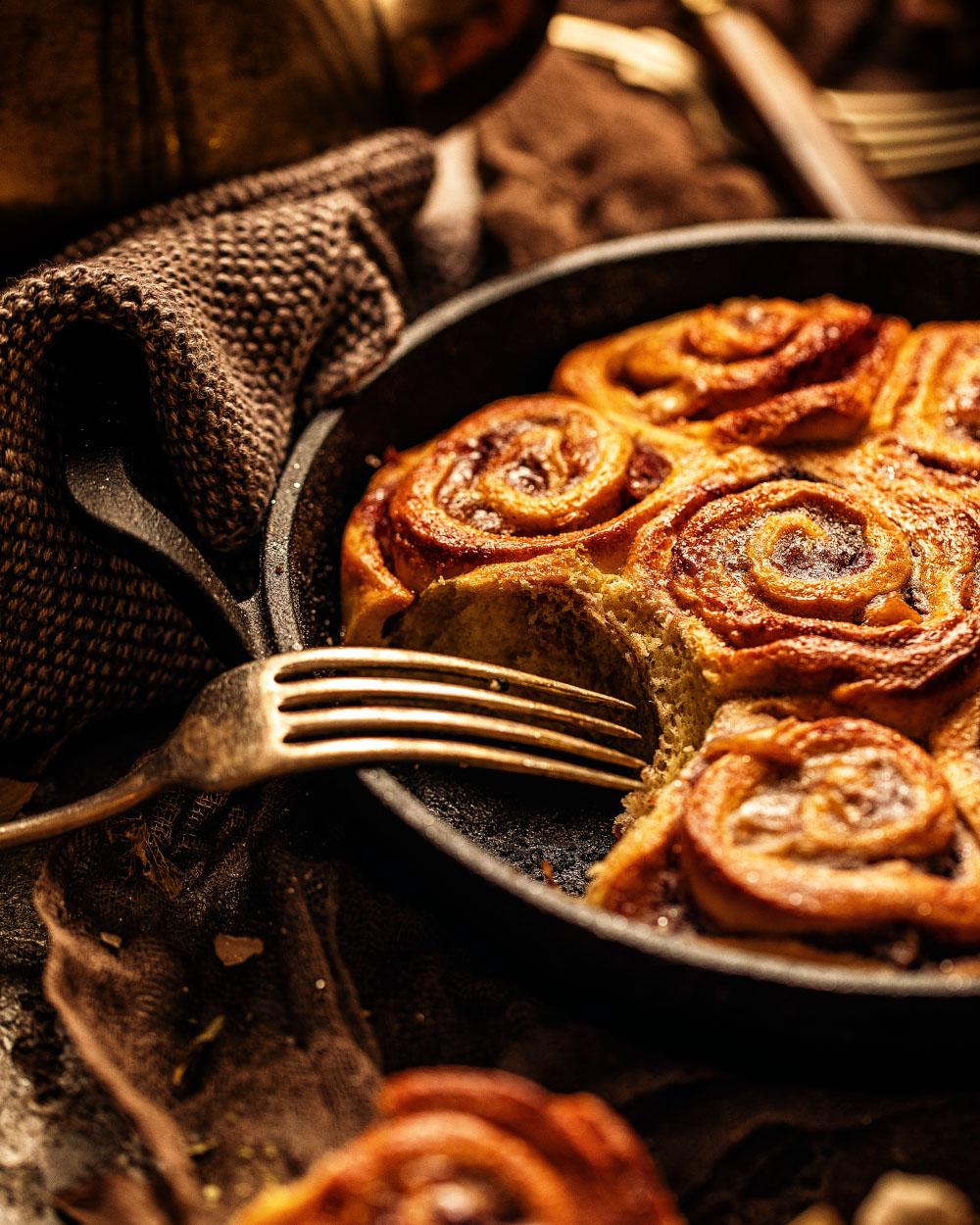 Marzipan Schnecken - einfaches Rezept für Hefeschnecken mit Marzipanfüllung