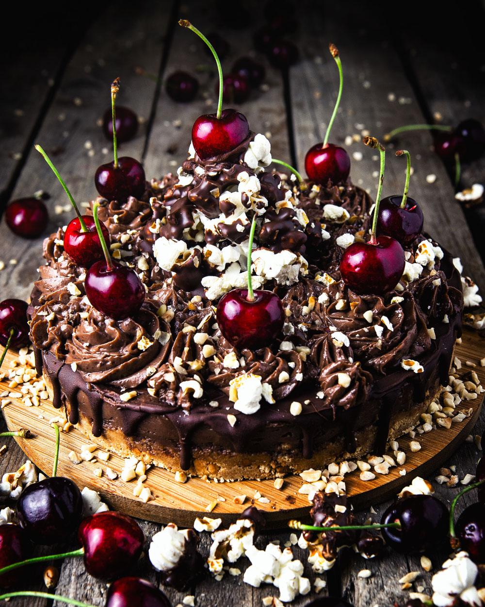Nutella-NoBake-Cheesecake