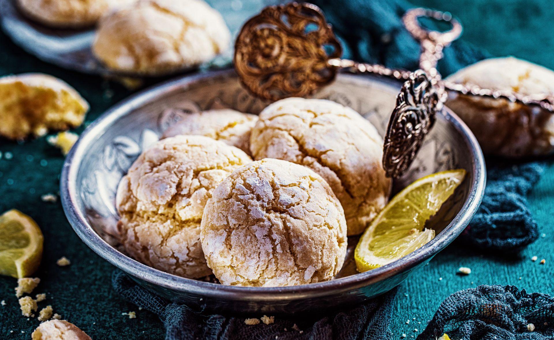 Zitronen-Soft-Kekse einfaches rezept mit für mandel-zitronen-kekse