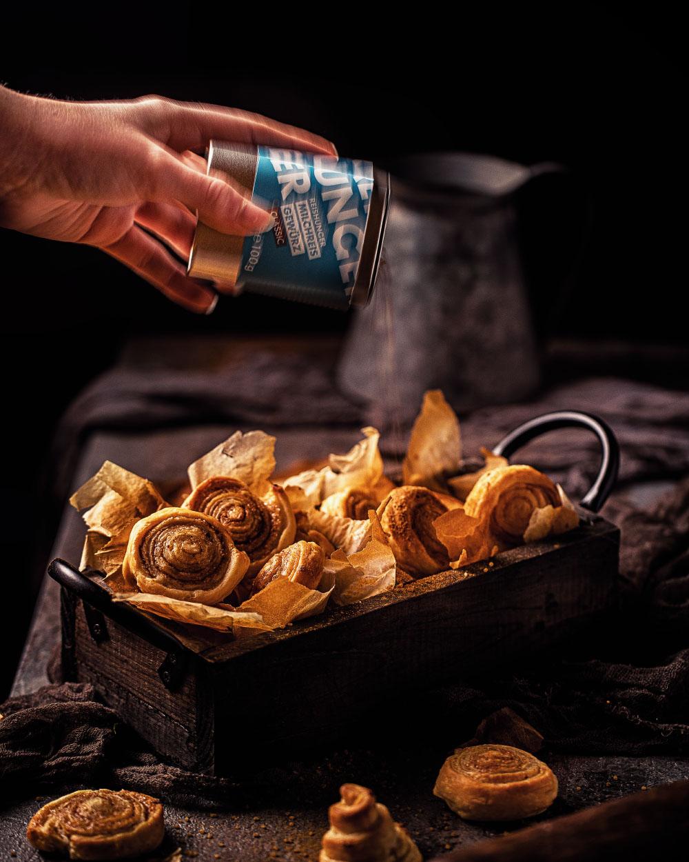Schnelle-Zimschnecken aus fertigteig - reishunger milchreisgewürz