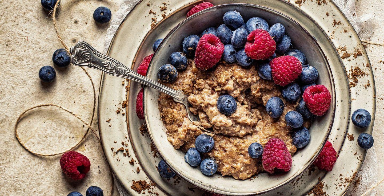 Veganes Porridge grundrezept einfaches rezept fitfood