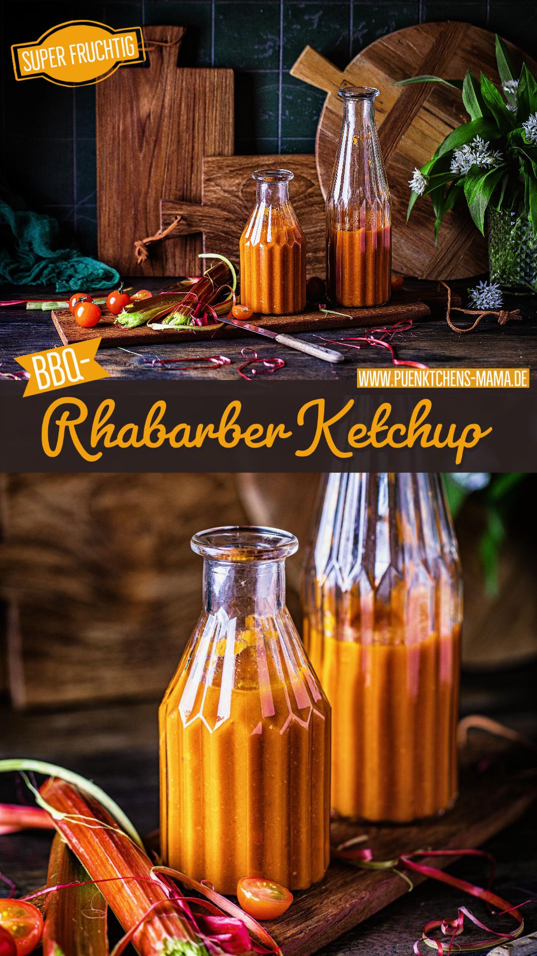 Rhabarber Ketchup einfaches rezept lecker bbq