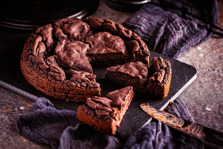 Schokoladenkuchen aus weißen bohnen einfaches rezept browinies kalorienreduziert