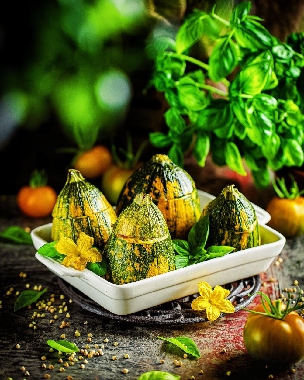 glutenfreie gefüllte zucchinis einfaches rezept