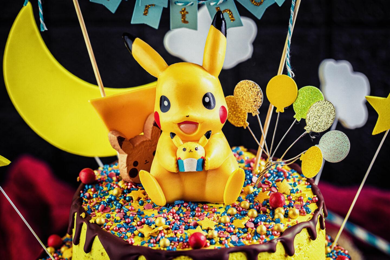 Einfache Pokemon Torte Geburstagstorte fuer Jungs Jungen einfaches Rezept Heike Herden Geburtstagstorte